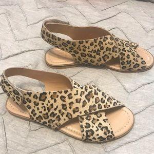 NWOT 🐆 Maruti Cross-Strap Slingback Sandals 🐆